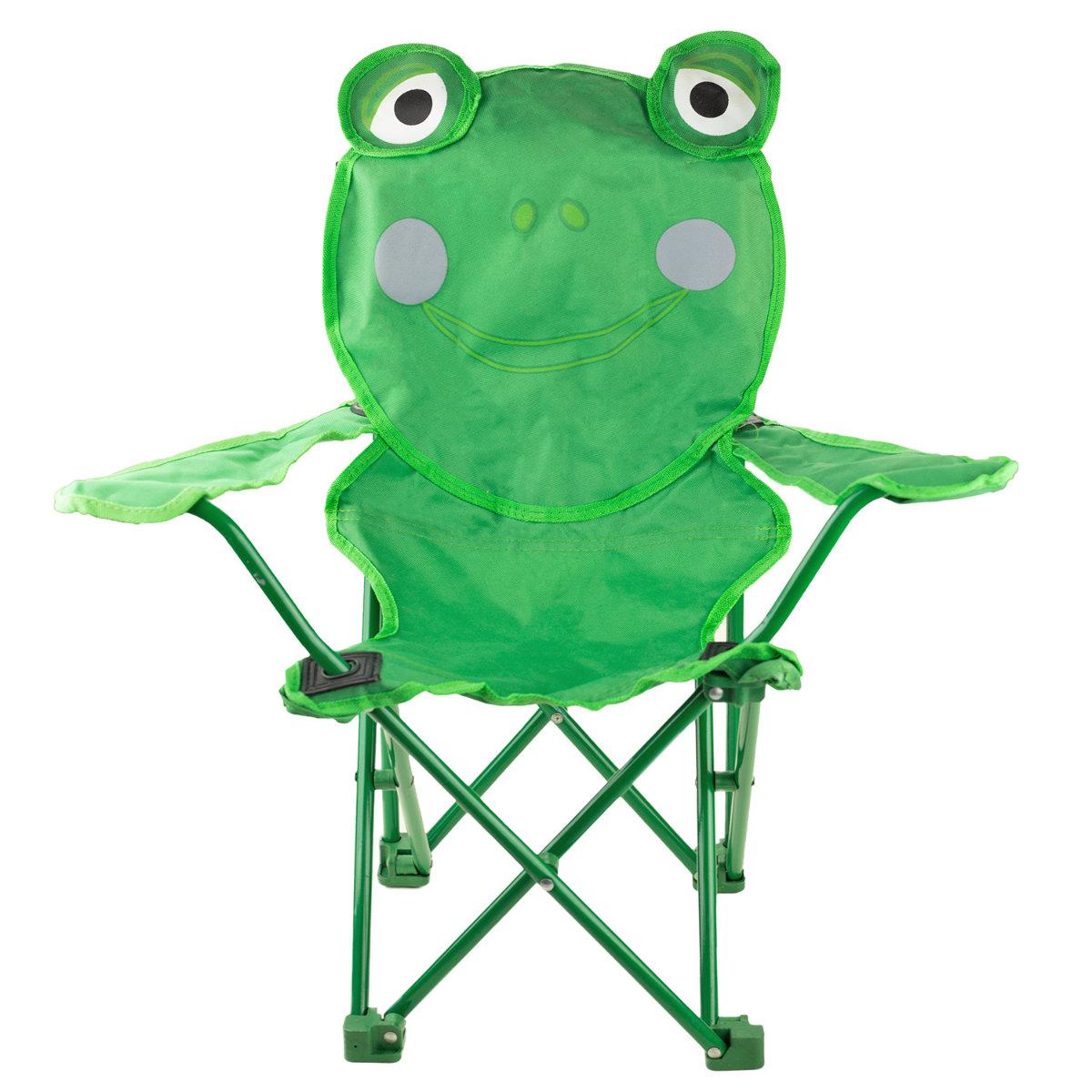 Kinder Camping Klappstuhl Gartenstuhl Kalatex Klappstuhl für Kinder Frosch