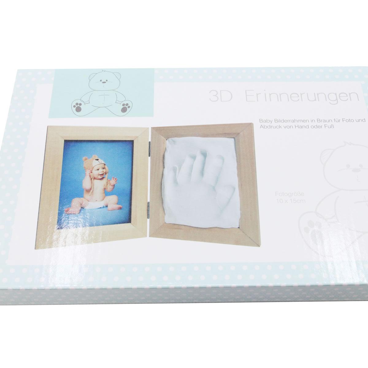 3D Erinnerung, Baby Bilderrahmen, Fotorahmen für ein Foto und ...