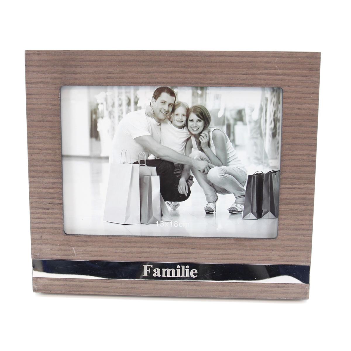Bilderrahmen, Fotorahmen, Familie, Portraitrahmen für 1 Foto 13x18cm ...