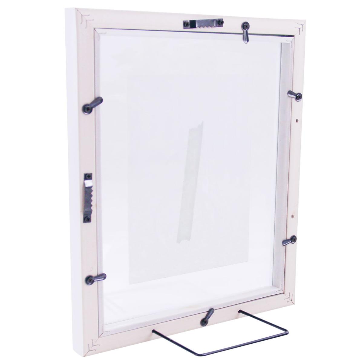 Neu art decor Bilderrahmen aus Glas/Holz, Fotorahmen, Portraitrahmen  IB85
