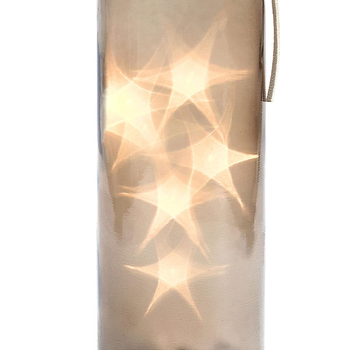 art decor Flasche mit LED Beleuchtung, Dekoflasche, Flaschenlicht ...