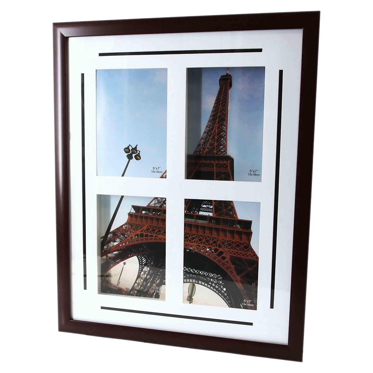 Fotorahmen, Bilderrahmen, Fotocollage für 4 Bilder á 10x15cm ...
