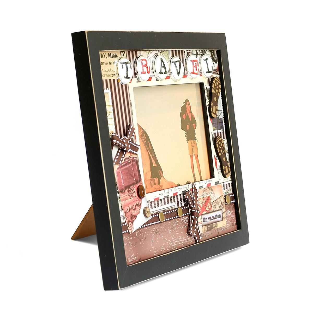 Fotorahmen Travel, 10x15cm, Bilderrahmen Weltreise/Urlaub ...