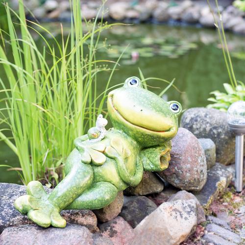 Frosch Gartendekoration Froschfigur Dekoration Für Balkon Garten
