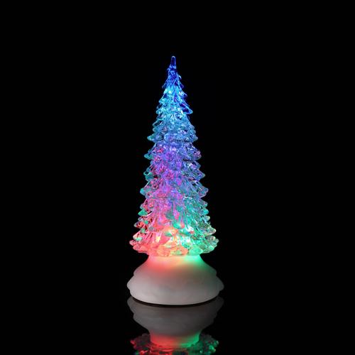 Weihnachtsbeleuchtung Led Baum.Led Glitzer Wirbel Leuchtender Led Baum Mit Sanftem Farbwechsel Höhe Ca 27cm