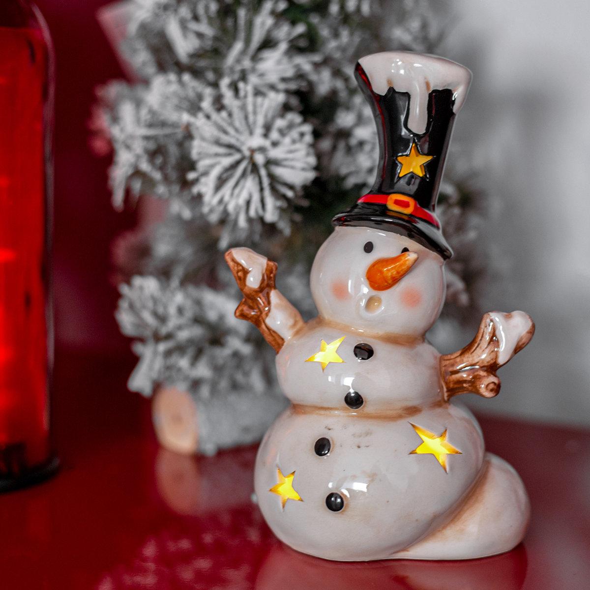 Led Schneemann Olaf Led Windlicht Weihnachten Led Figur Winter