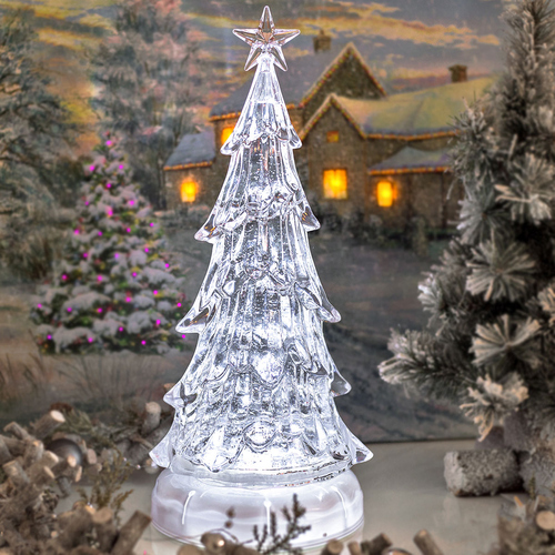 Led Weihnachtsbeleuchtung Baum.Led Weihnachtsbaum Glitzer Wirbel Leuchtender Led Baum Eisblau Höhe Ca 37cm