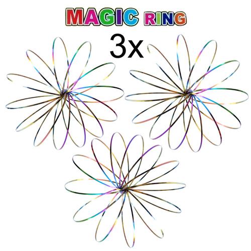Magic Ring, Farbe Rainbow, 3D Skulptur, Geschenk für Kinder und ...