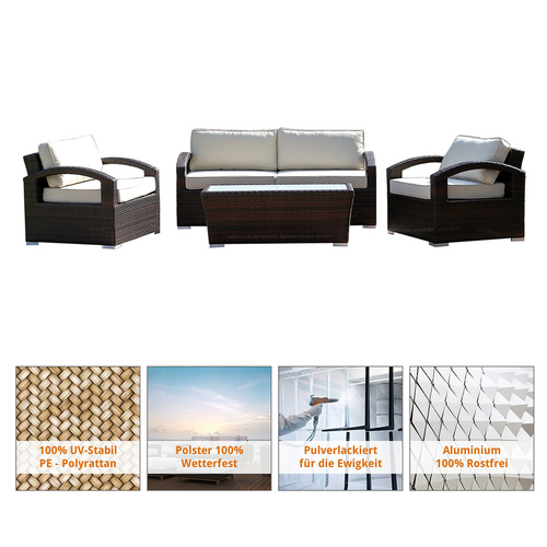 Loungembel Aluminium. Affordable Gallery Of Garten Loungemobel Holz ...