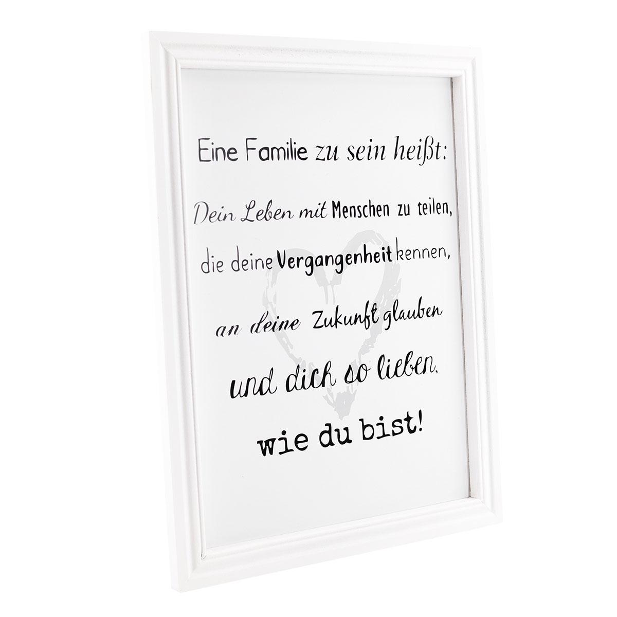Groß Familienbilderrahmen Mit Sprüchen Bilder - Rahmen Ideen ...