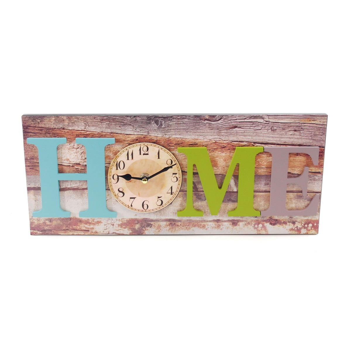 art decor Wanduhr, Home, Holzoptik, Küchenuhr, Uhr, Breite ca ...