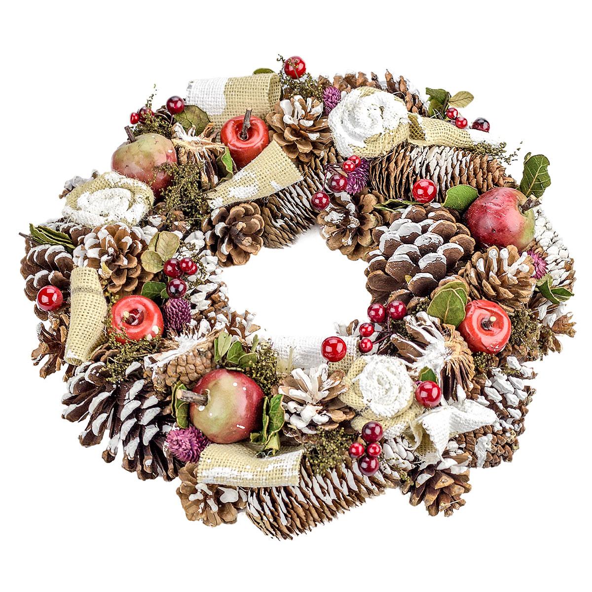 Weihnachtsdeko Kranz weihnachtskranz, türkranz, dekokranz, kranz, weihnachtsdeko, Ø ca