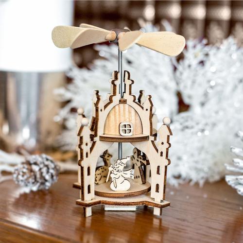 Produktabbildung Art Decor Weihnachtspyramide Aus Holz, Weihnachten,  Weihnachtsdekoration, Kleine Pyramide